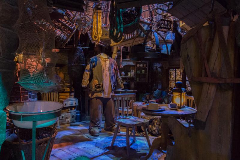 Cabaña de Hagrid HP