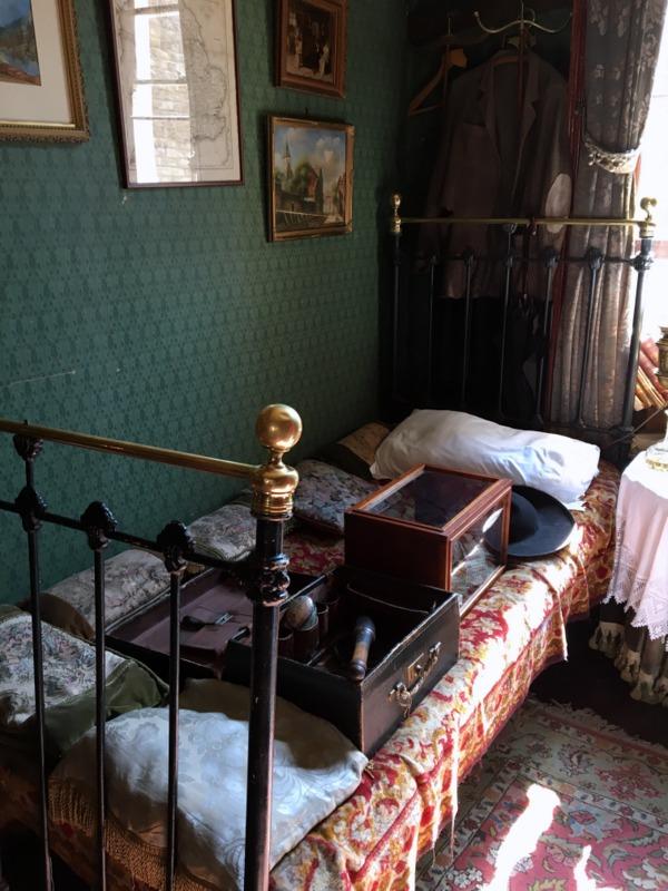 dormitorio de Sherlock Holmes