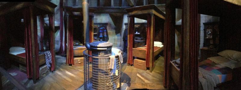 Dormitorio de los chicos de Gryffindor HP