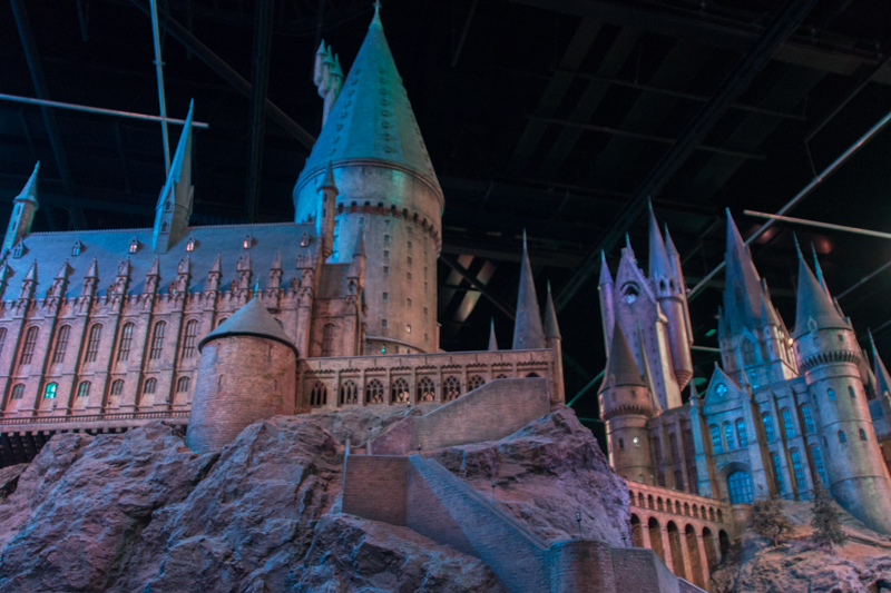 maqueta de Hogwarts 2