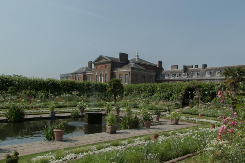 The White Garden de Kensington Palace 1