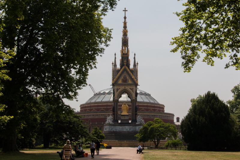 The Albert Memorial y The Royal Albert Hall