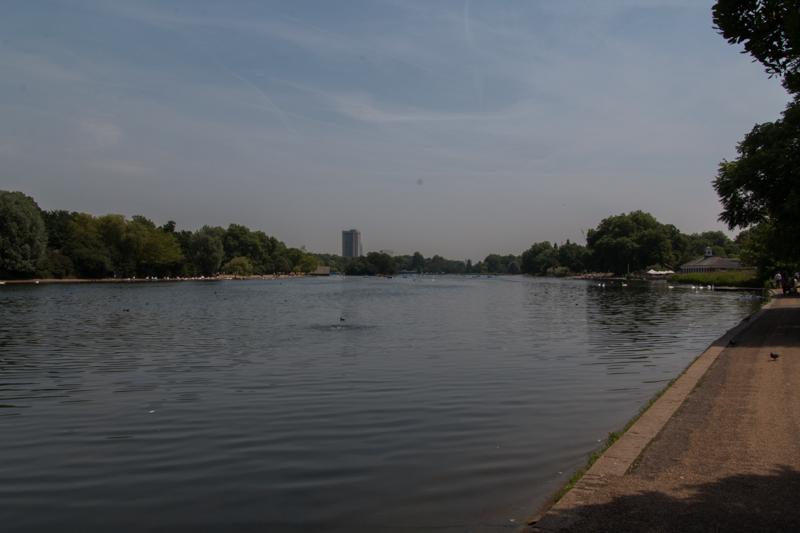 The Serpentine en Hyde Park