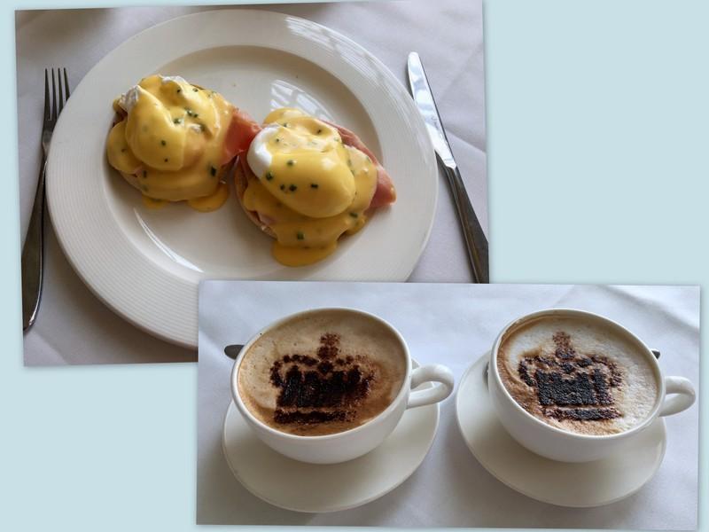 desayuno en The Orangery