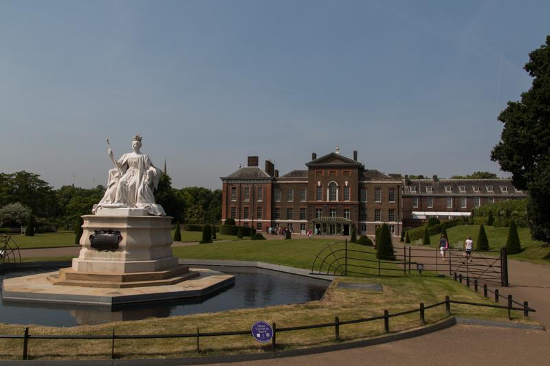 entrada principal de Kensington Palace