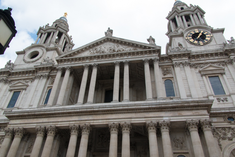 fachada de St. Paul's Cathedral