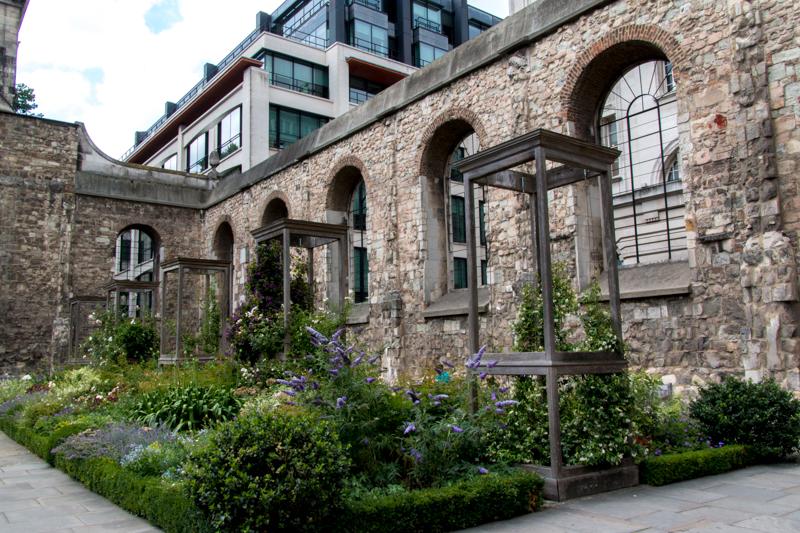 jardín de Christchurch Greyfriars