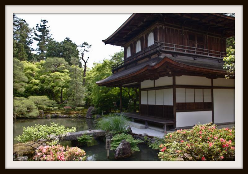 Ginkaku ji o Pabellon de Plata en Kioto