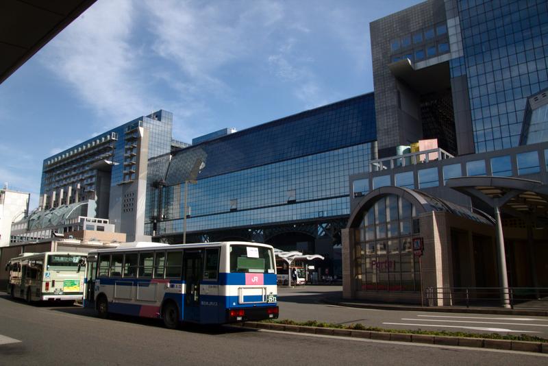 estación de Kioto entrada norte