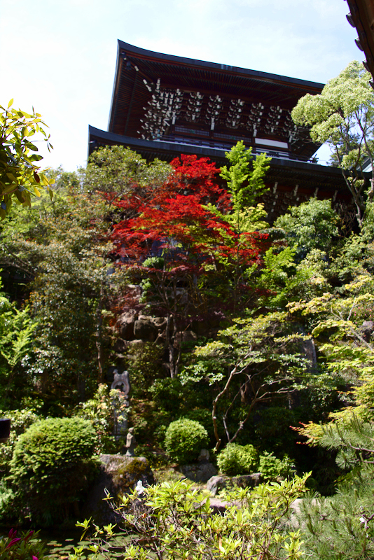 pagoda en el templo Daisho-in de MIyajima