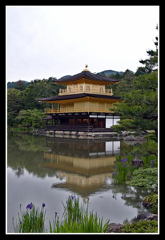 Kinkaku-ji o Pabellón Dorado en Kioto1