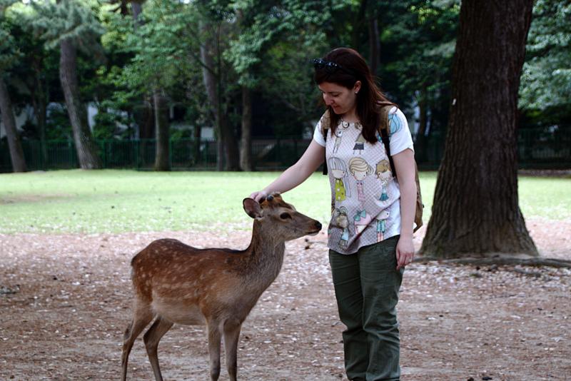 Lidia en Nara