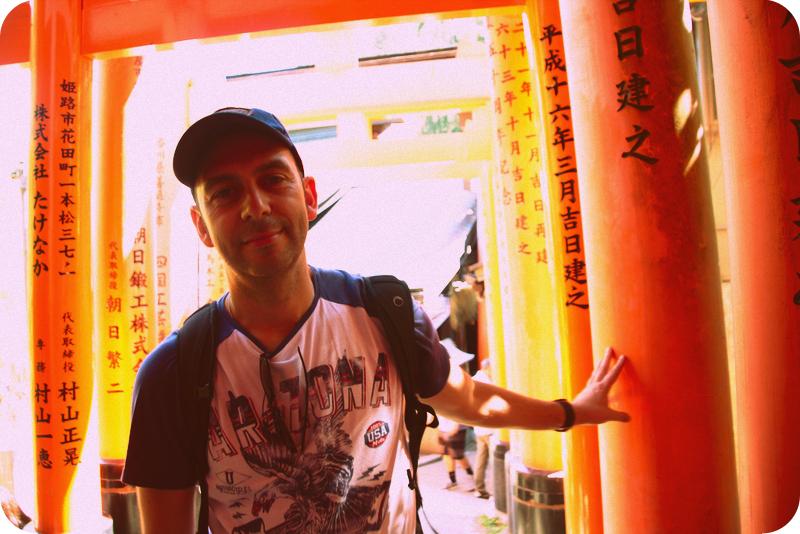 Sergio en Fushimi Inari