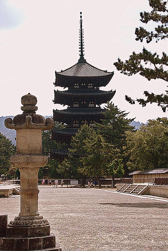 pagoda de cinco pisos de Kofuku-ji en Nara
