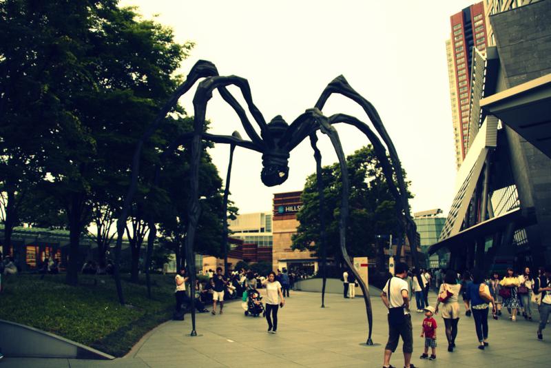 escultura en el centro comercial Roppongi Hills
