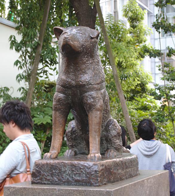 estatua del perro Hachiko en Shibuya