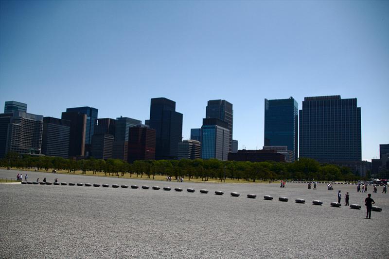 explanada delante del Palacio Imperial de Tokio
