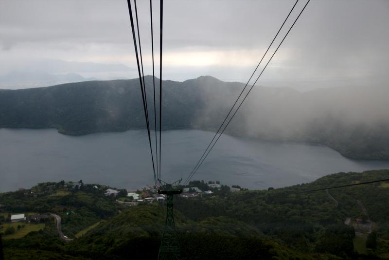 vistas desde el teleférico de Hakone3