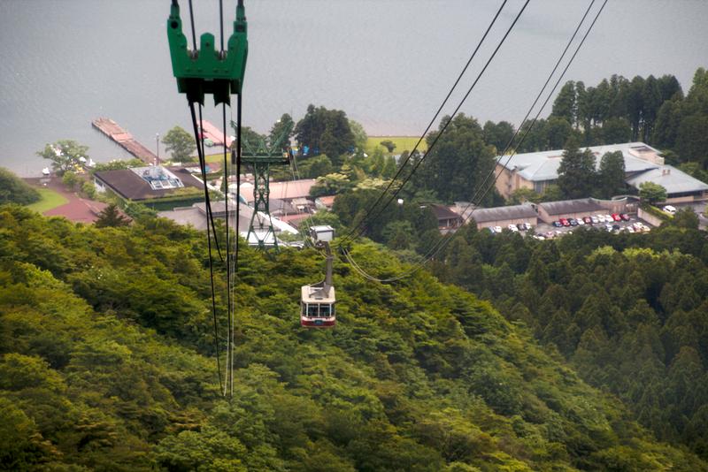 vistas desde el teleférico de Hakone4