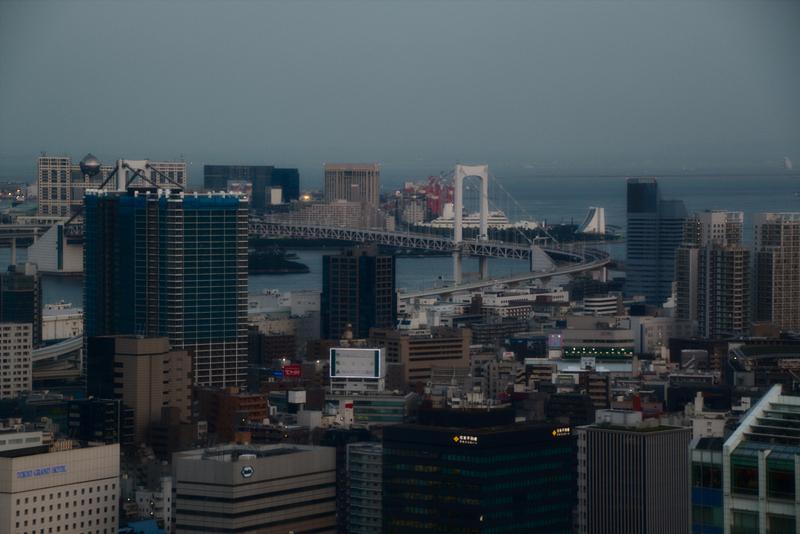 vistas de Tokio desde la Tokyo Tower3