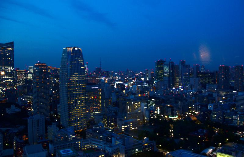 vistas nocturnas de Tokio desde la Tokyo Tower1