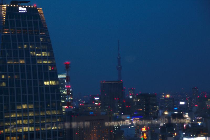 vistas nocturnas de Tokio desde la Tokyo Tower2