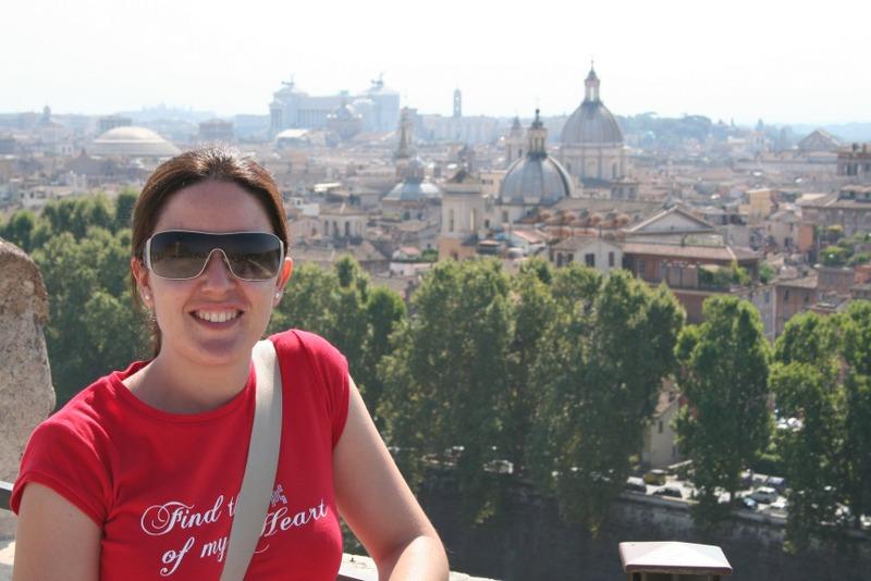 Castel Sant'angelo - vistas de San Pedro