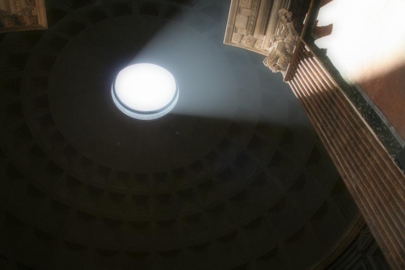 Il Pantheon - cúpula