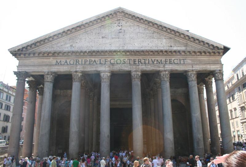 Il Pantheon - fachada