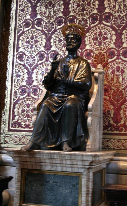 Vaticano - Estatua San Pedro