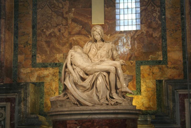 Vaticano - La Pietà de Miguel Ángel