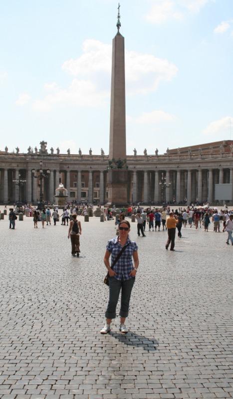 Vaticano - Lidia en la Plaza San Pedro