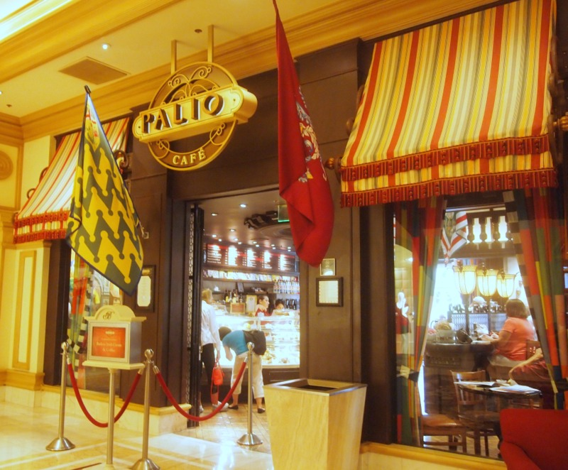 Café Palio en el Bellagio de Las Vegas