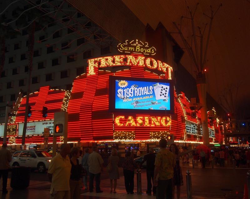 calle Fremont en Las Vegas1