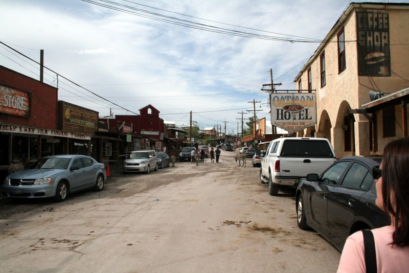 calle de Oatman, Arizona