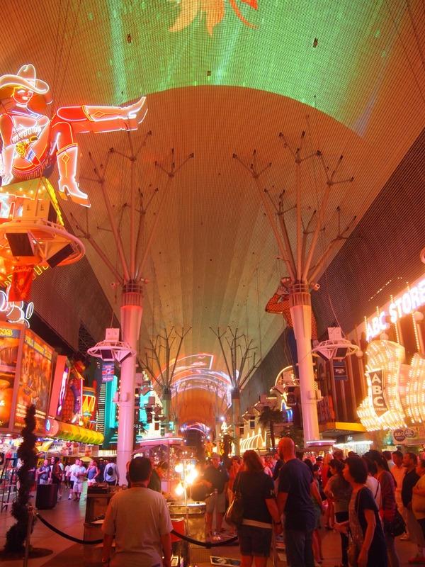 calle Fremont en Las Vegas3