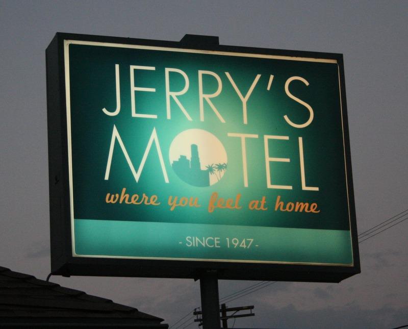 cartel del Jerry's Motel de Los Angeles