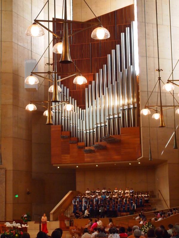 catedral de Nuestra Señora de Los Angeles - órgano