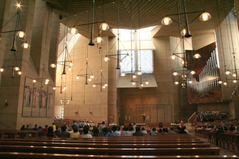 catedral de Nuestra Señora de Los Angeles - altar