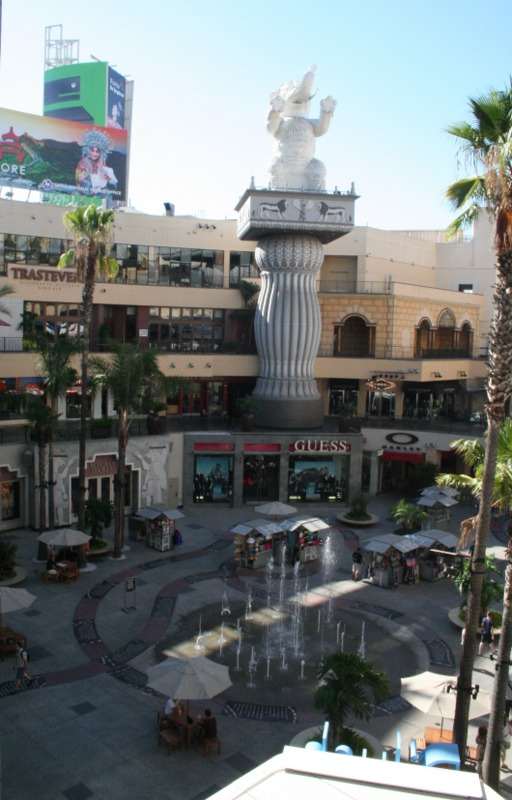 centro comercial en Hollywood Los Angeles