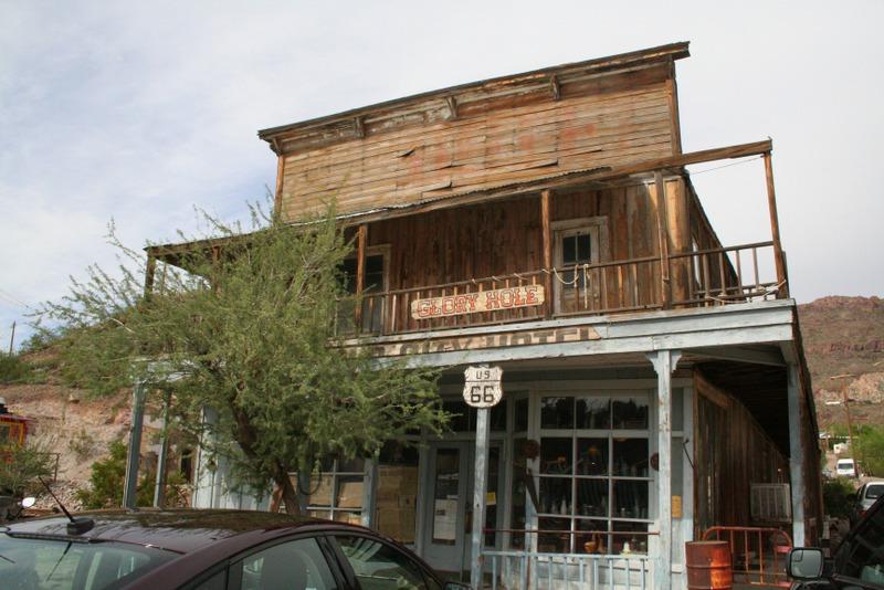 edificio de Oatman, Arizona