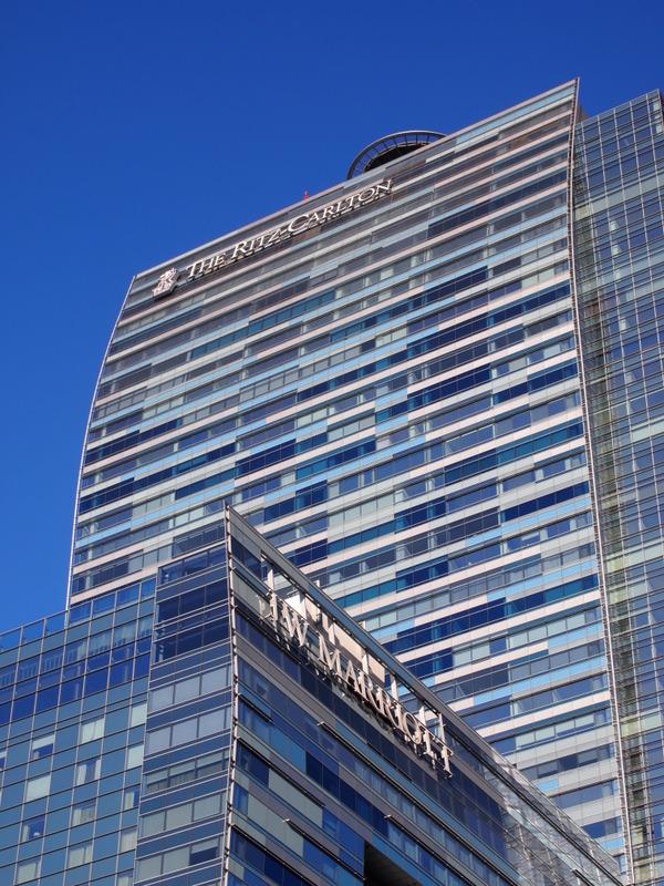 edificio del Ritz Carlton en el Downtown de Los Angeles