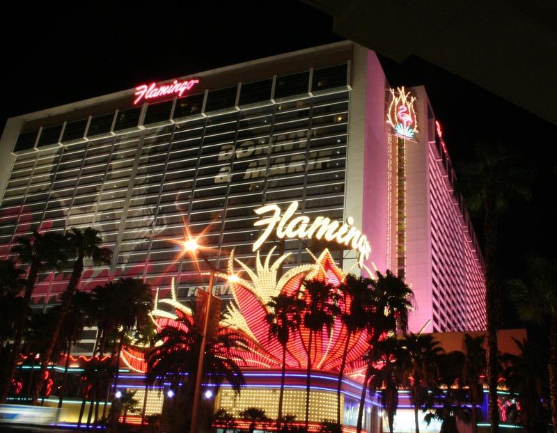 hotel Flamingo en Las Vegas