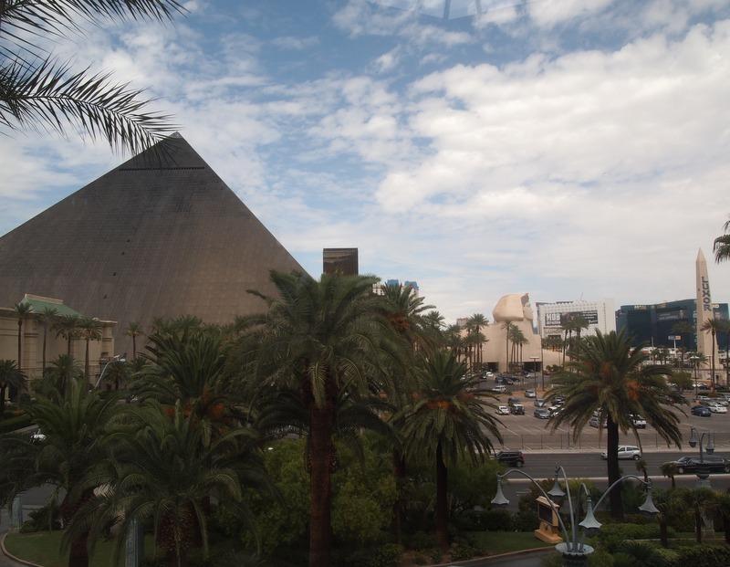 hotel Luxor en Las Vegas 1