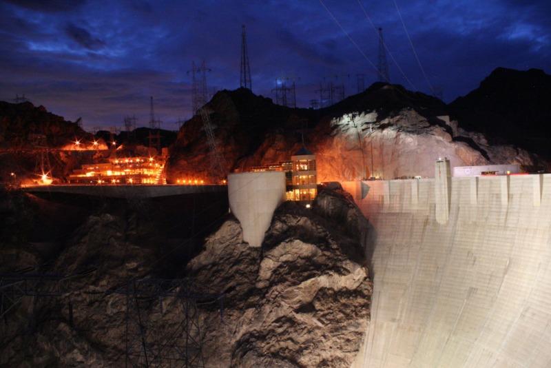 la presa Hoover en Las Vegas 2