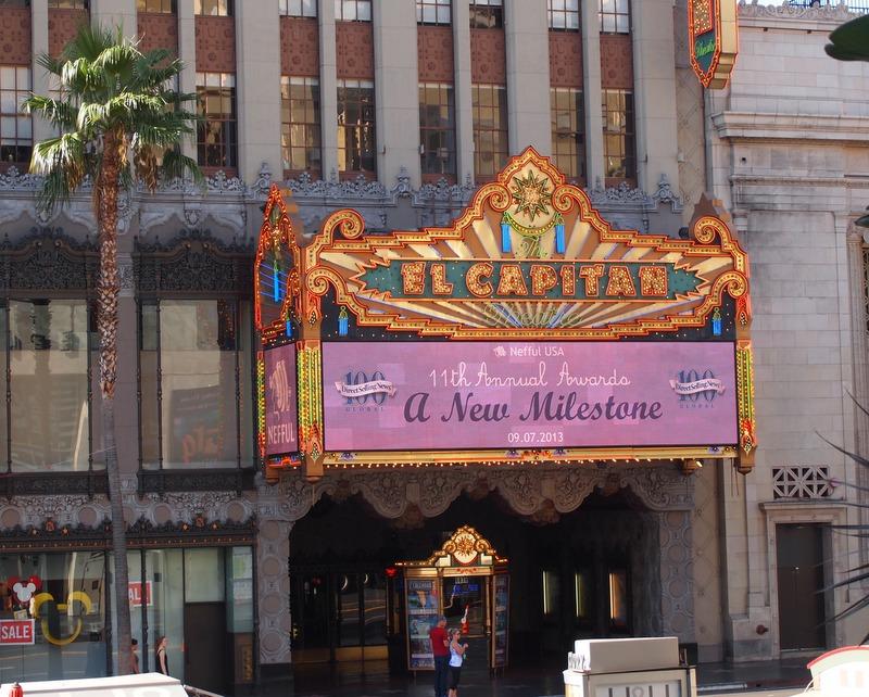 Teatro Capitán de Hollywood Boulevard en Los Angeles