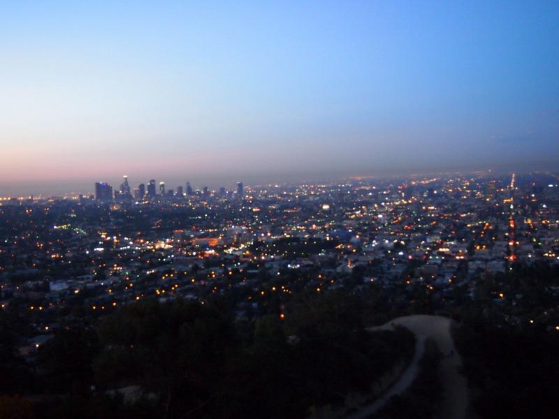 vistas de Los Angeles desde el Observatorio Griffith