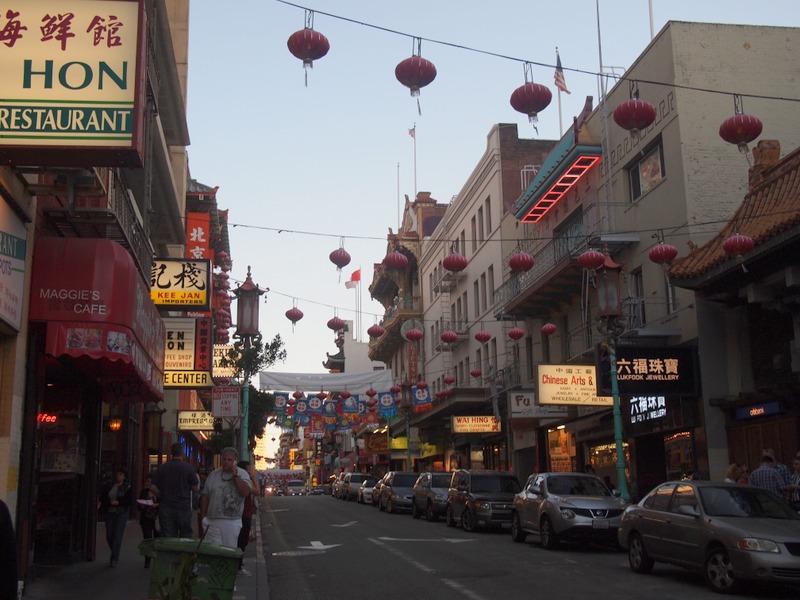 calle de Chinatown en San Francisco