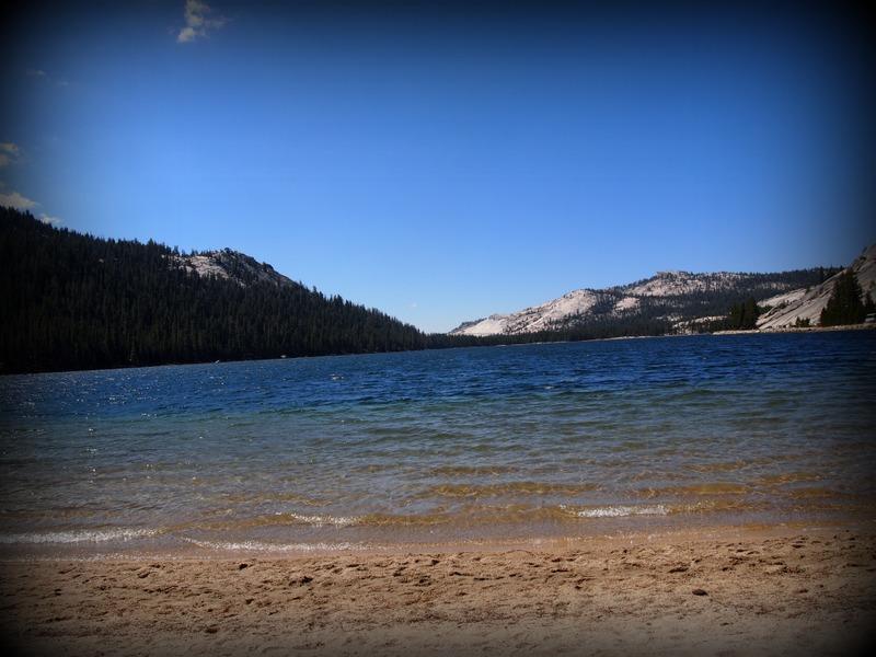 Tony Lake, en el Parque Nacional de Yosemite