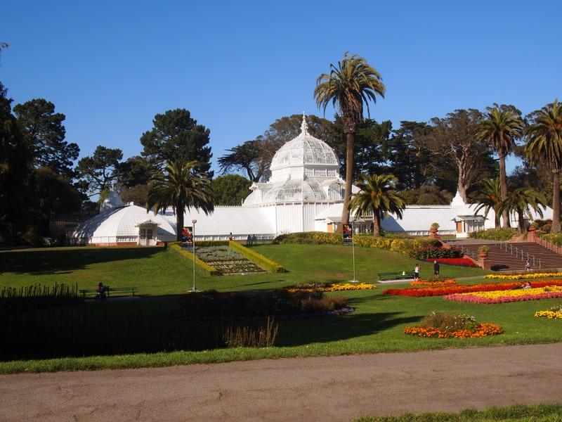 Victorian Conservatory en el Golden Gate Park de San Francisco